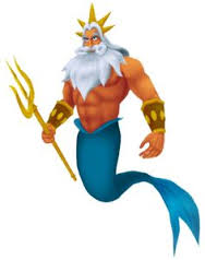 The Little Mermaid King Triton